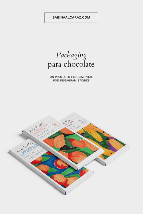 Packaging para chocolate: ka-kaw